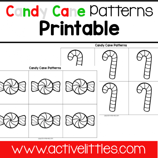 Candy Cane Patterns Printable