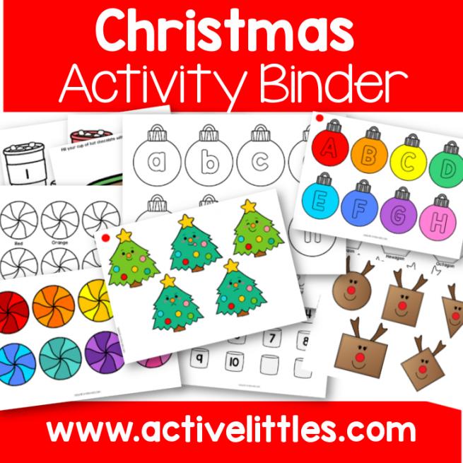 Christmas Activity Binder Printable