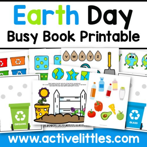 Earth Day Busy Book - Active Littles