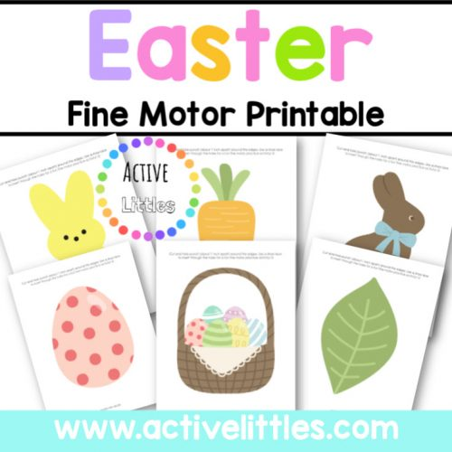 Easter Fine Motor Printable Activity - Active Littles