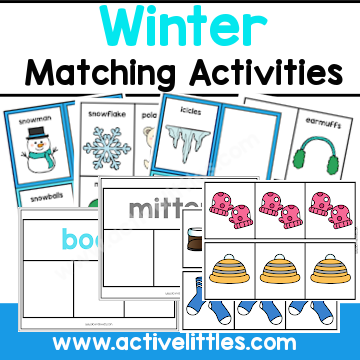 January Winter Activity for Preschool
