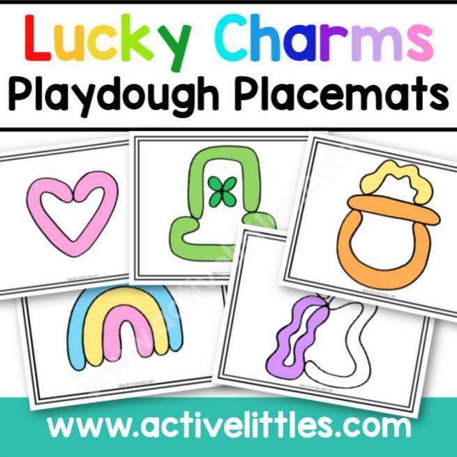 Luck Charms Playdough Mats - Active Littles
