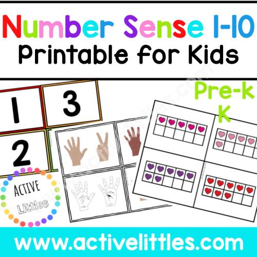 Number Sense 1-10 Printable Busy Book