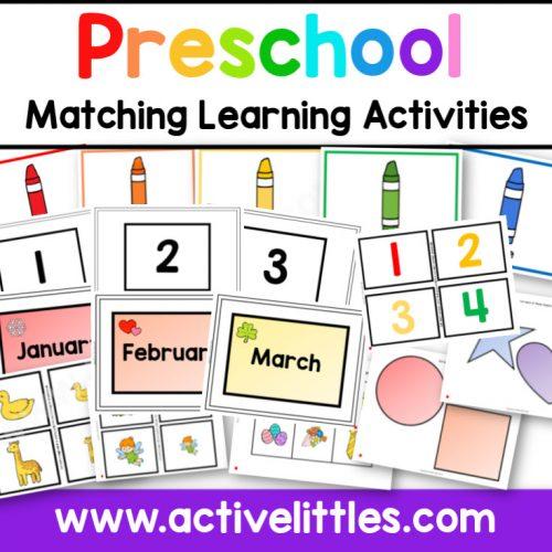 Preschool Learning Activities - AL