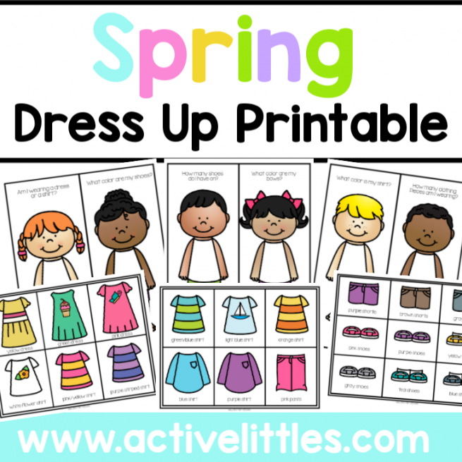Spring Dress Up Printable -2