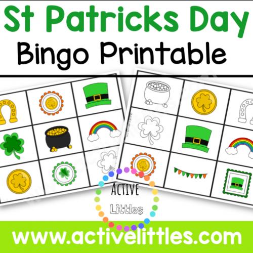 St Patricks Day Bingo Game Printable