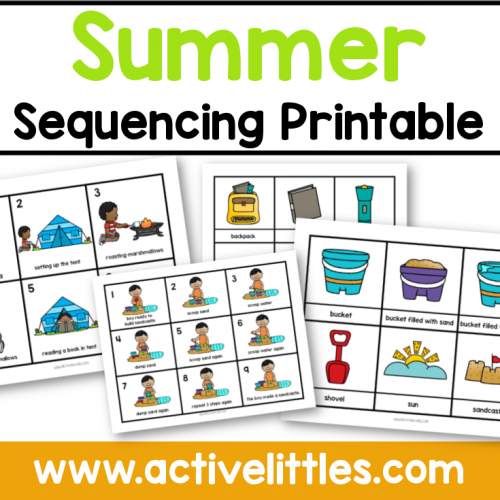 Summer Sequencing Printable