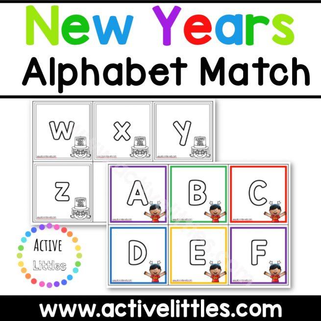 New Years Alphabet Printable