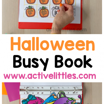 halloween busy book activity binder