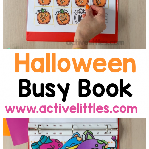 halloween busy book activity binder