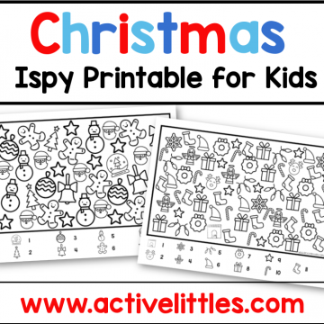 christmas ispy toddler preschool printable