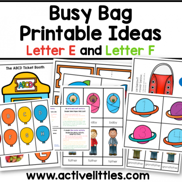 busy bag busy book printable ideas for toddlers preschool